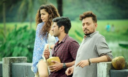 irrfan khan, mithila palkar, dulquer salmaan in karwaan special screening in london