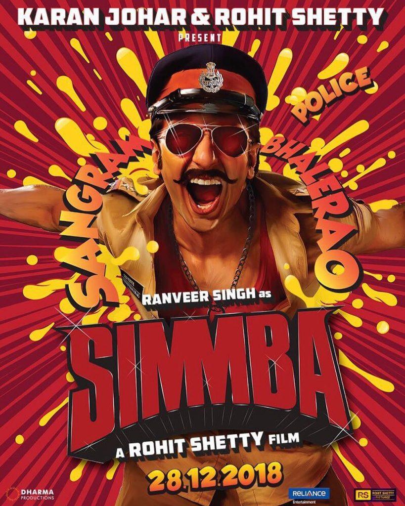 Ranveer Singh in Simmba