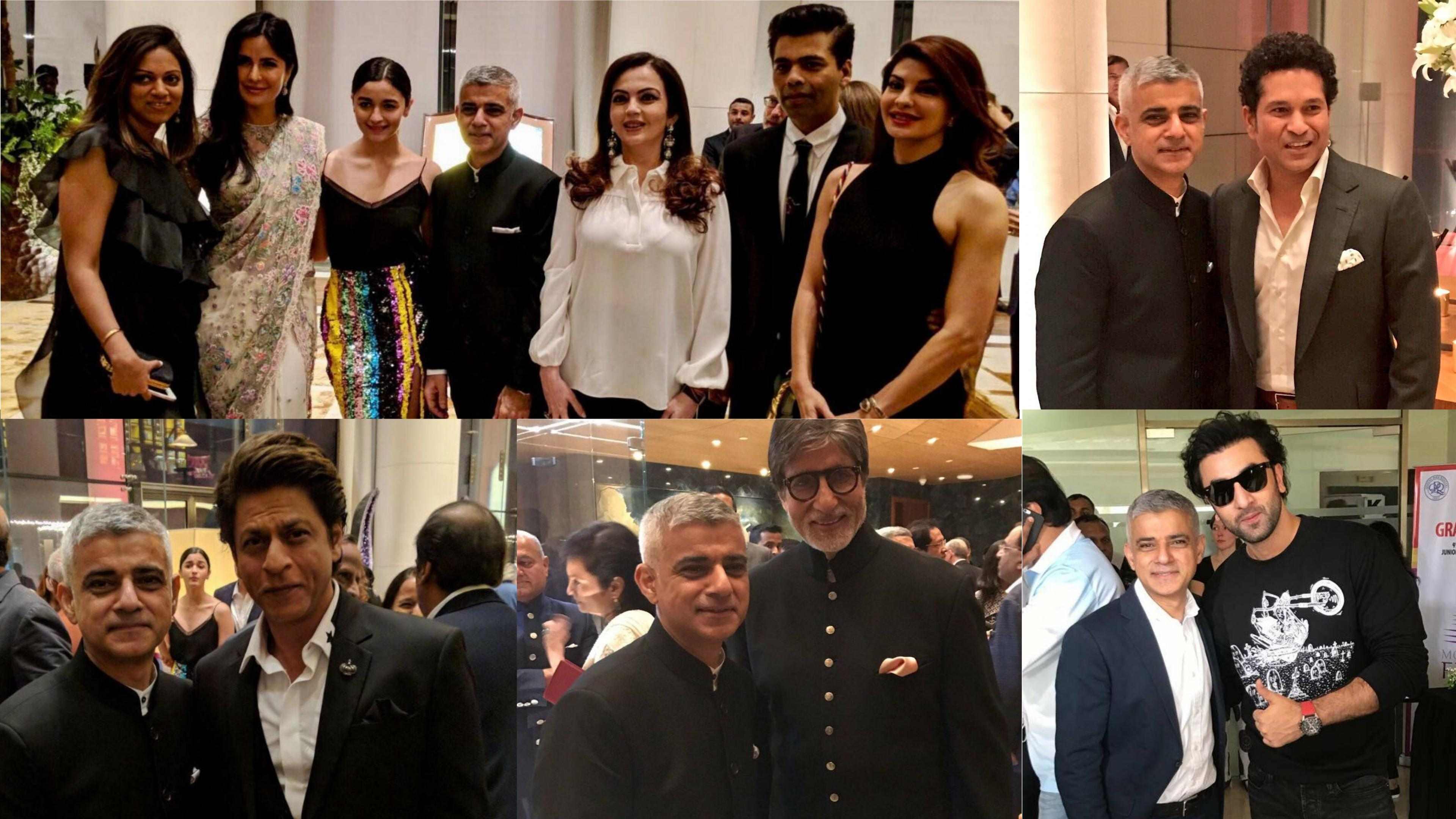 Bollywood welcomes sadiq khan