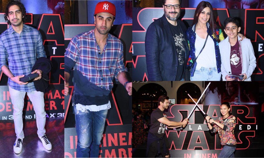star wars india premiere