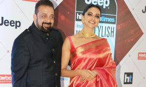 Deepika and Sanjay Dutt