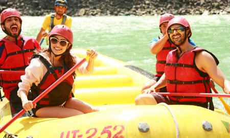 rafting on shoot