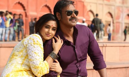 ileana dcruz and ajay devgn in sanu ek pal from raid