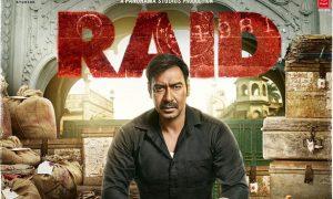 Raid Poster Ajay Devgn