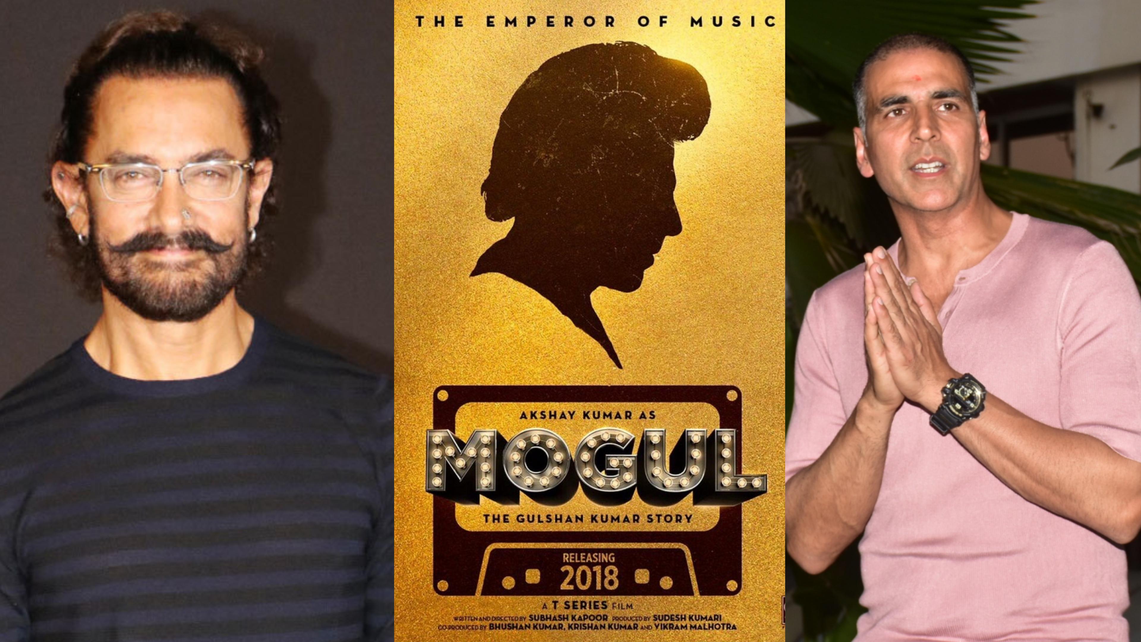 Aamir replaces Akshay Mogul