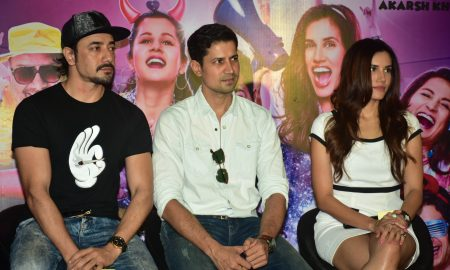 Mantra, Sumeet & Sonnalli at high jack trailer launch