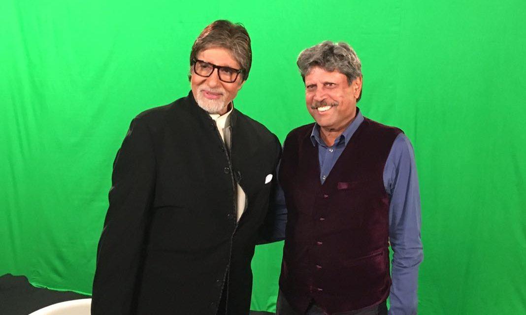 Kapil Dev interviews Amitabh bachchan