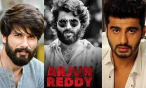 Arjun kapoor replaced by Shahid Kapoor in the hindi remake of Arjun Reddy