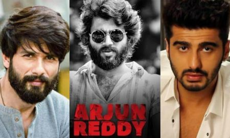 Arjun kapoor replaced by Shahid Kapoor in the hindi remake of Arjun Reddy