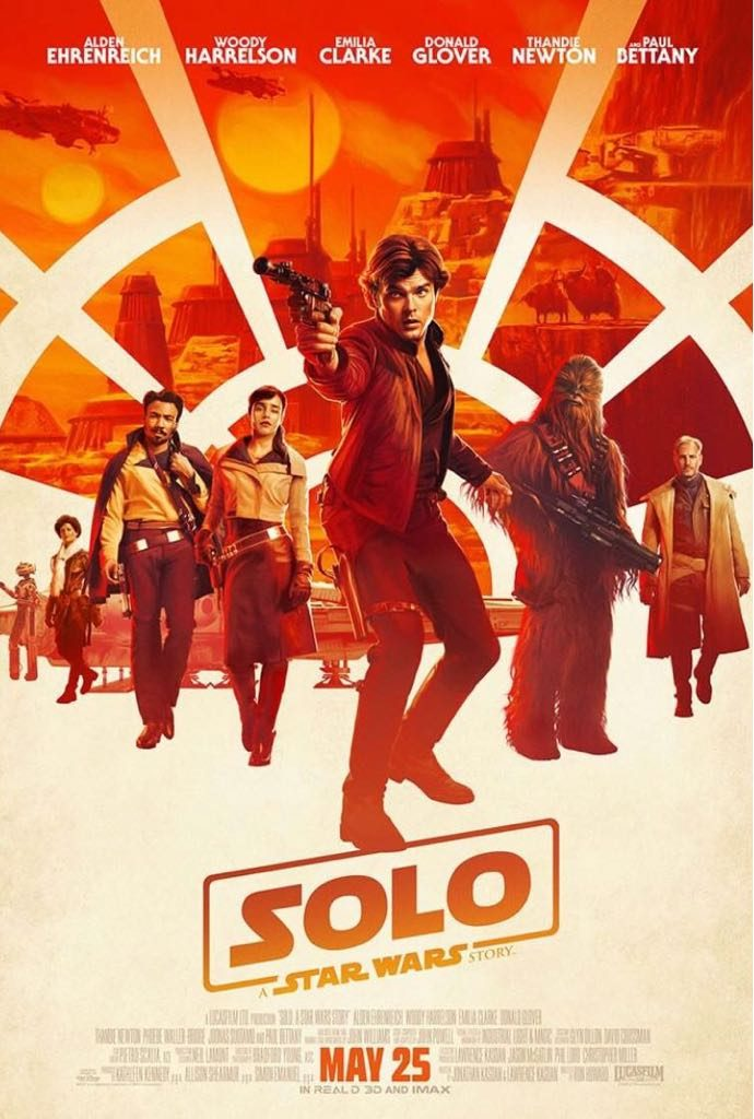 Solo: A Star Wars Movie Poster