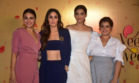 Kareena Kapoor Khan, Swara Bhaskar, Sonam Kapoor and Shikha Talsania In Veere Di Wedding