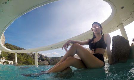 Amyra Dastur in Ibiza