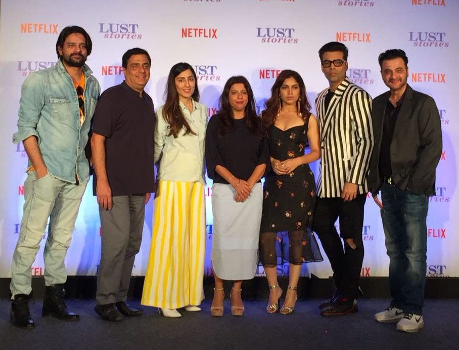 Lust Stories Team At The Trailer Launch