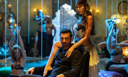 John Abraham & Nora Fatehi in the recreation of Dilbar