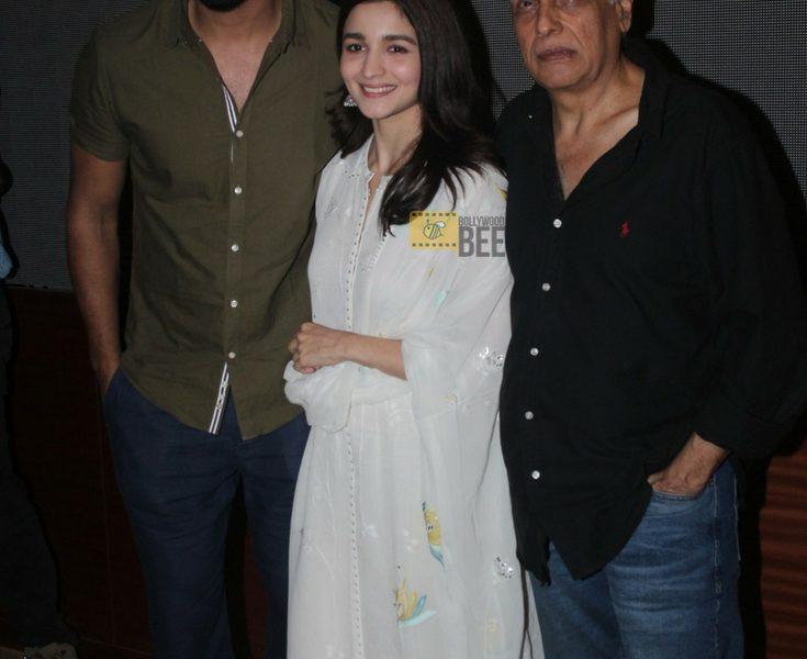 Vicky Kaushal, Alia Bhatt & Mahesh Bhatt