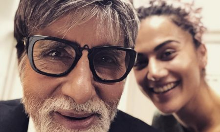 Taapsee and Amitabh in Badla
