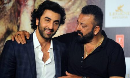 Sanjay Dutt and Ranbir