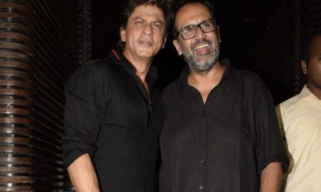 Aanand L Rai and Shah Rukh Khan