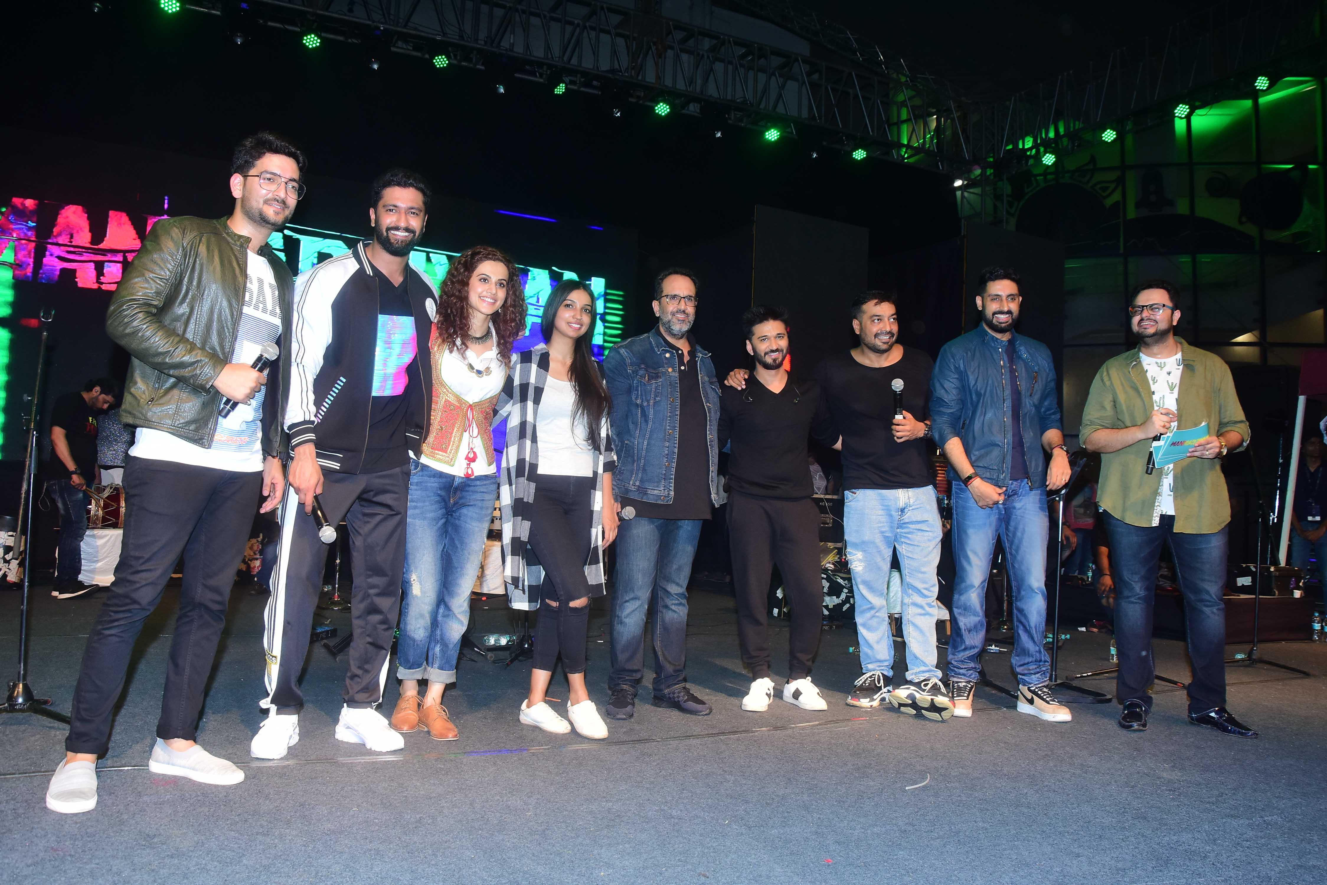 manmarziyaan concert tour