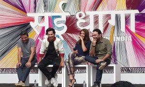 varun dhawan anushka sharma sharat-maneesh-sui-dhaaga-trailer-launch