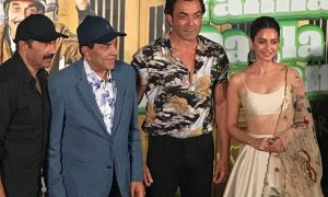 Dharmendra, Bobby, Sunny, Kriti