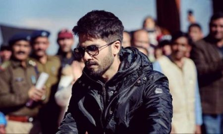 shahid kapoor in tehri shooting for bgmc