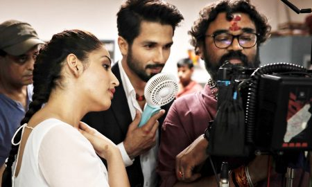 yami gautam, shahid kapoor and shree narayan singh in batti gul meter chalu