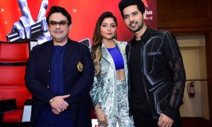 Adnan Sami, Kanika Kapoor and Armaan Malik as THE VOICE coaches