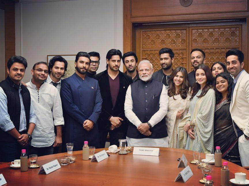When Bollywood Stars Met PM Narendra Modi