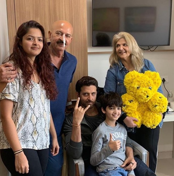 Hrithik Roshan Celebrates His Birthday With Family