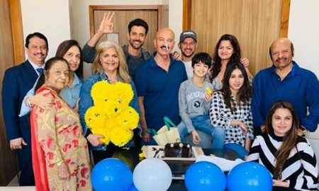 Hrithik Roshan Celebrates His Birthday Amidst Family And Friends