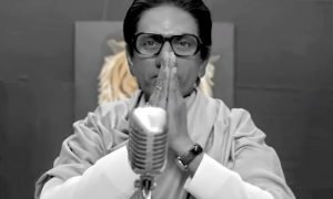 Nawazuddin Siddiqui as Balasaheb Thackeray in Thackeray