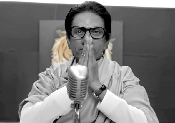 Nawazuddin Siddiqui as Balasaheb Thackeray in Thackeray