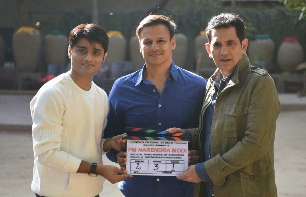 Producer Sandip Ssingh, Actor Vivek Anand Oberoi and Director Omung Kumar