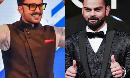 Ranveer Singh and Virat Kohli at the top of brand endorsements