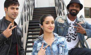 Varun Dhawan, Shraddha Kapoor and Remo D'Souza