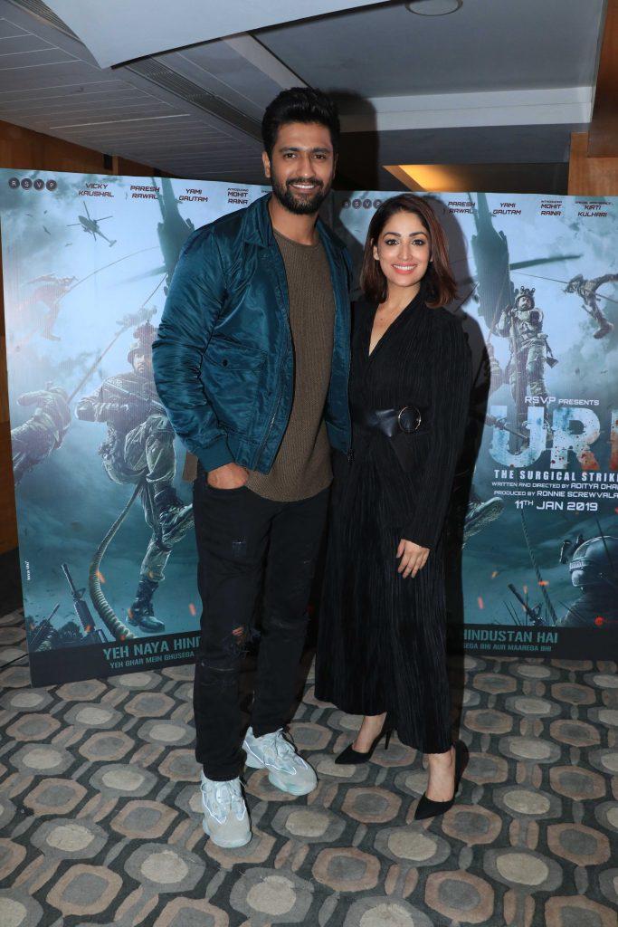 Vicky Kaushal and Yami Gautam