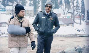 Writer-Director Vijay Lalwani with Arjun Rampal on the sets of The Final Call