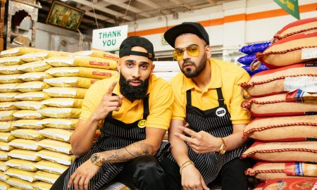 DJ UpsideDown and rapper Happy Singh