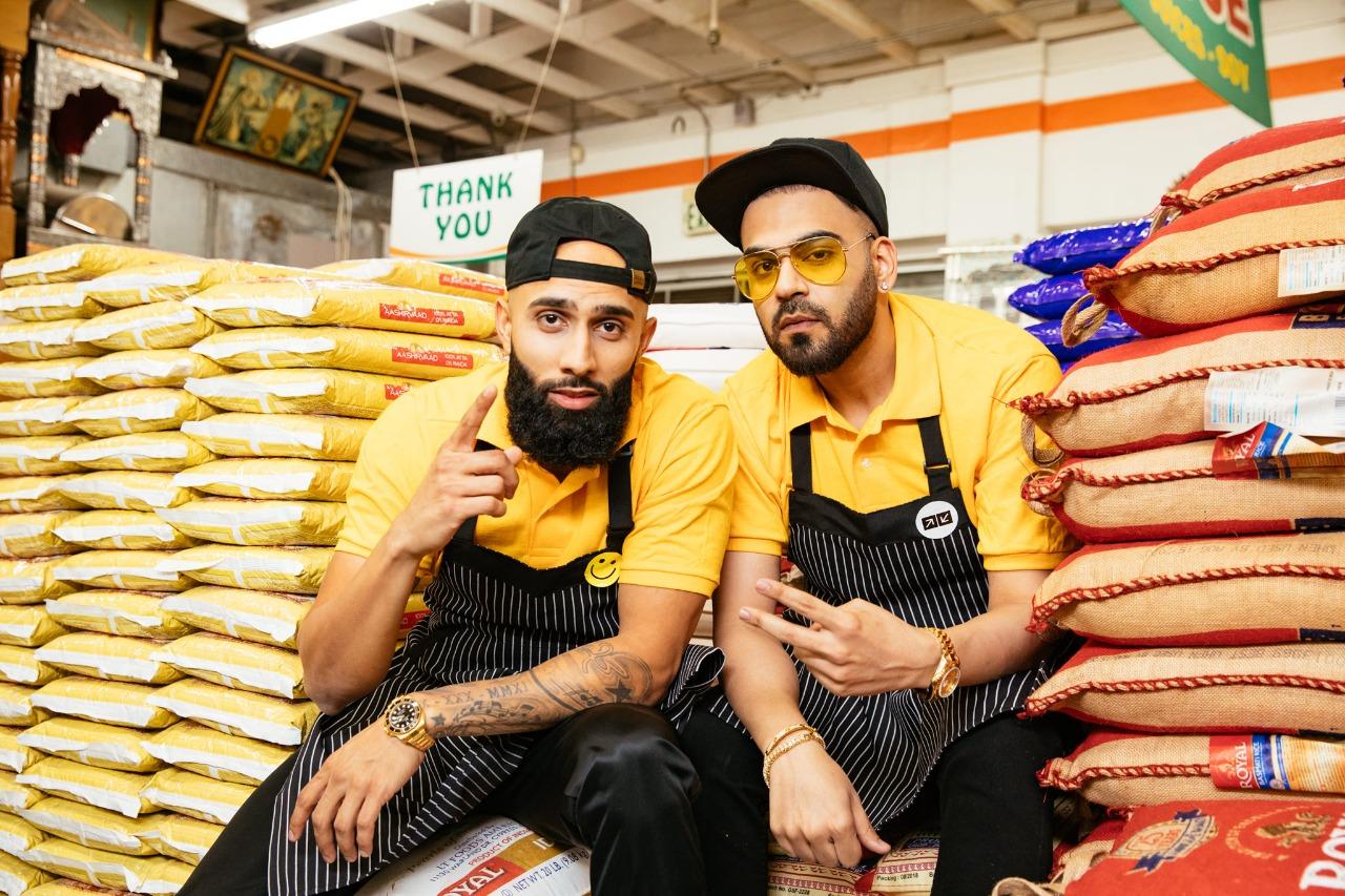 DJ UpsideDown and rapper Happy Singh