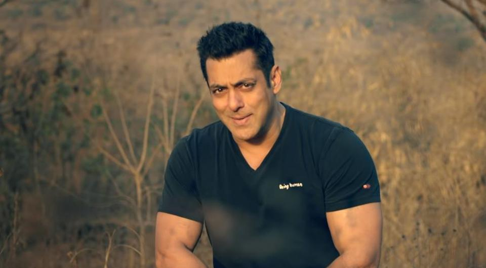 Salman Khan in a still from Main Taare