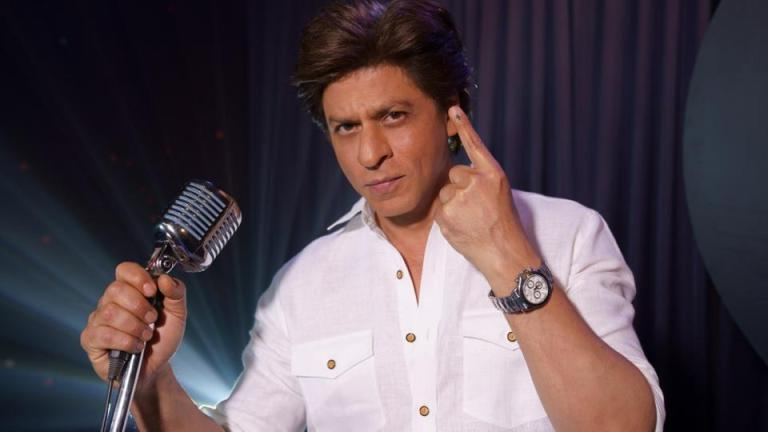 Shah Rukh Khan Urges People To Vote