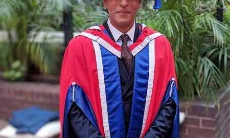Shah Rukh Khan receives a honorary doctorate in philanthropy