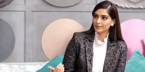 Sonam Kapoor on Pinch