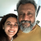 Taapsee Pannu and Anubhav Sinha