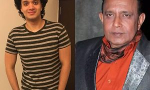 Mithun Chakraborty and Namashi Chakraborty