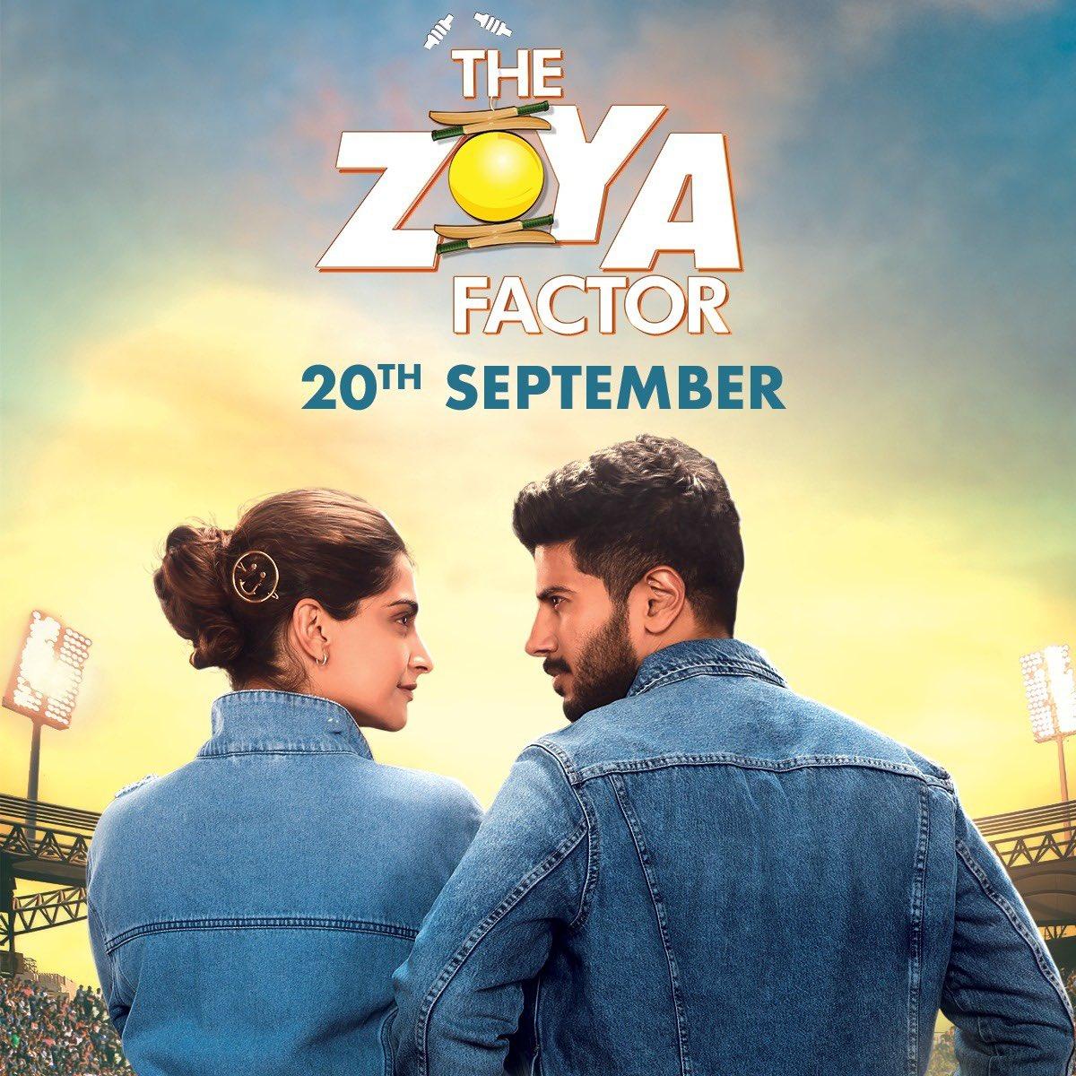 Sonam Kapoor and Dulquer Salmaan In The Zoya Factor