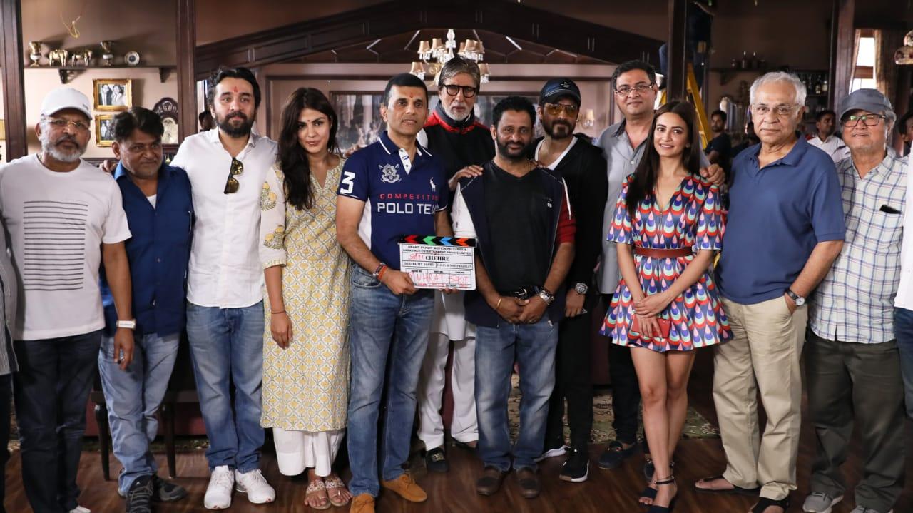 Amitabh Bachchan And Emraan Hashmi's Film To Go On Floors Today