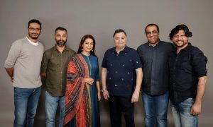 Juhi Chawla To Collaborate With Rishi Kapoor