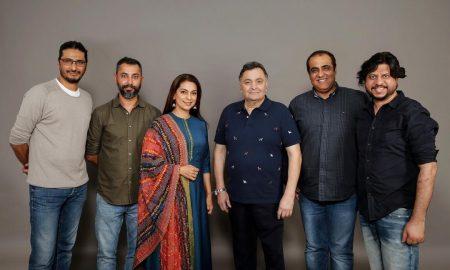 Juhi Chawla To Collaborate With Rishi Kapoor